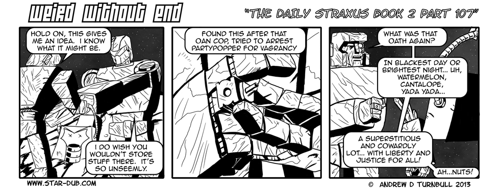 The Daily Straxus Book 2 Pt 107