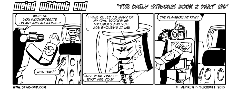 The Daily Straxus Book 2 Pt 189