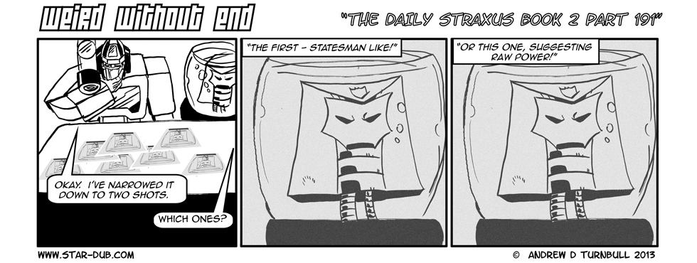The Daily Straxus Book 2 Pt 191