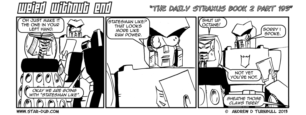The Daily Straxus Book 2 Pt 193