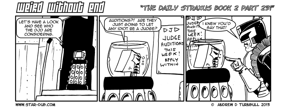 The Daily Straxus Book 2 Pt 231