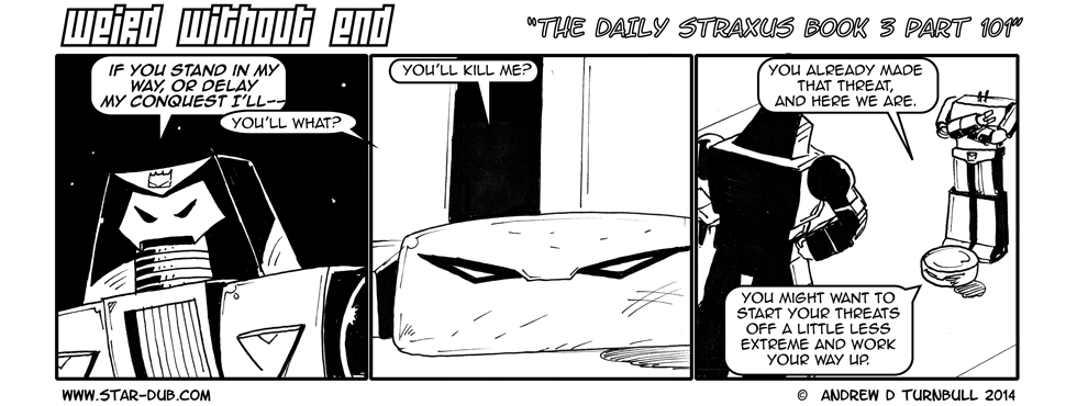 The Daily Straxus Book 3 Part 101