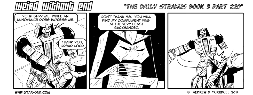 The Daily Straxus Book 3 Part 220