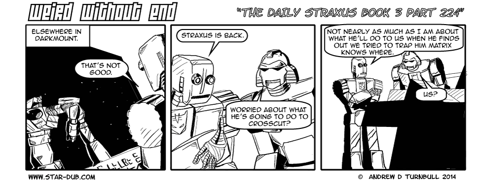 The Daily Straxus Book 3 Part 224