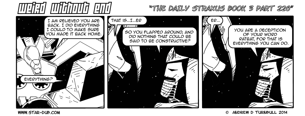 The Daily Straxus Book 3 Part 226