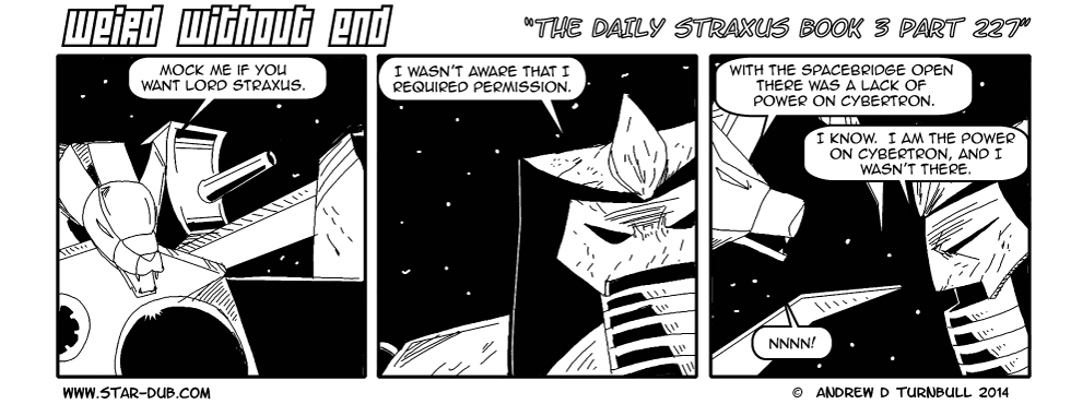 The Daily Straxus Book 3 Part 227