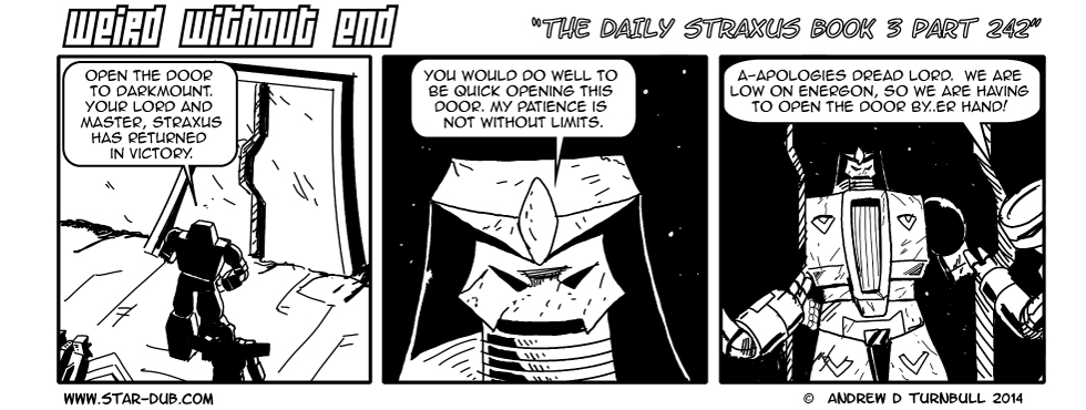 The Daily Straxus Book 3 Part 242