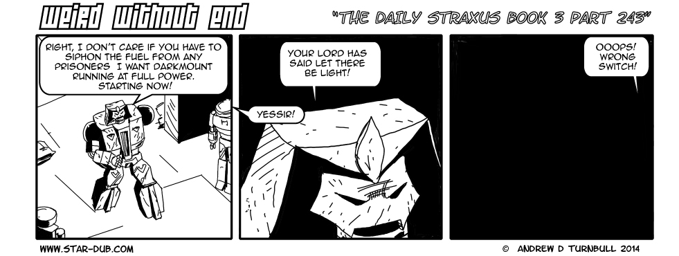 The Daily Straxus Book 3 Part 243