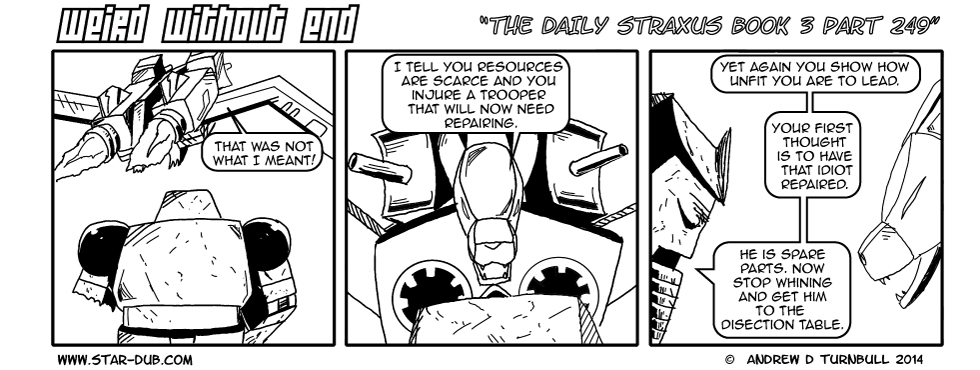 The Daily Straxus Book 3 Part 249