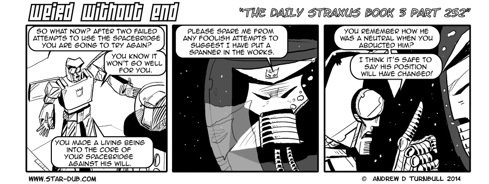 The Daily Straxus Book 3 Part 252